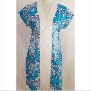 Lilly Pulitzer Women's Dress Size Small Shift Blue